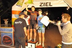 Siegerehrung bei der Uelzener mycity-Night 2010