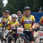 Nils Utrata, Bosse Kahlstorf, Steven von der Kamp und Jan Radtke beim 14. Buchholzer Stevens Cup (15.07.2012)