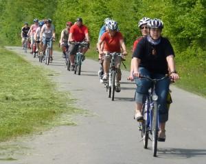 Fahrradfahren macht auch vielen blinden und sehbehinderten Menschen Spaß