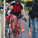 Dagmar Stolte, Leiterin des Post SV Radsportteams, betreut das neue Sportangebot