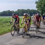 Auf Tour mit dem Radsportteam
