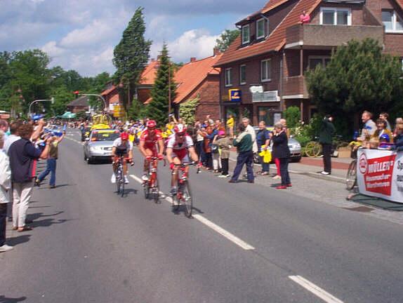Deutschland-Tour 2001: Sprintwertung in Ebstorf
