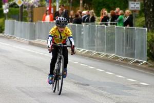 Anstrengendes Rennen, aber ein toller 5. Platz für Paul Michaelis Foto: J. Kramer