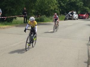 Kalle Kahlstorf (U13): Zieleinfahrt in Esplingerode