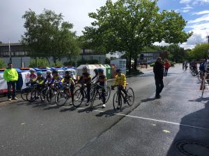 Start zum Pfingstrennen in Langenhagen (AK U11)