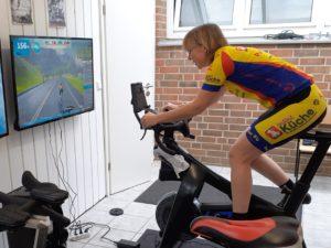 Training auf dem Smartbike
